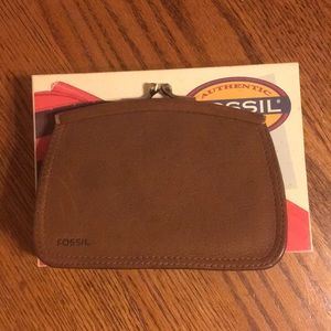 Fossil coin purse wallet